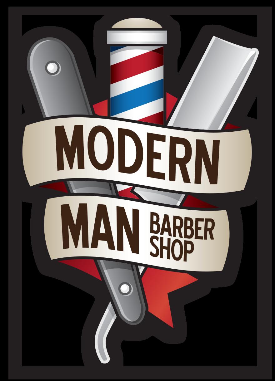 Modern man shop . Barber clipart transparent