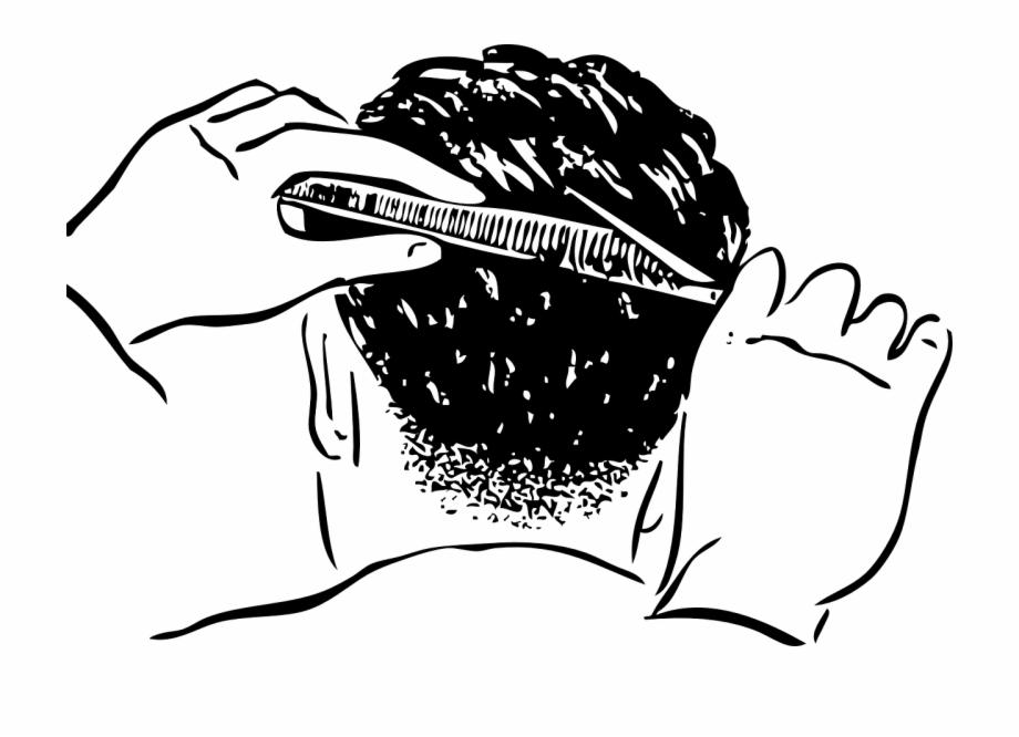 Haircut man style png. Barber clipart trim hair
