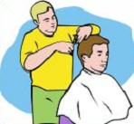 Barber clipart trim hair. Free tags cuts occupations