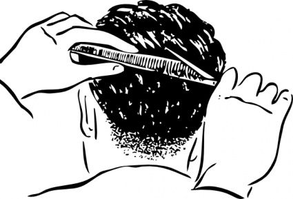 Barber clipart trim hair. How to not piss