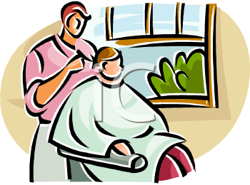 Barber clipart trim hair. Cutting portal