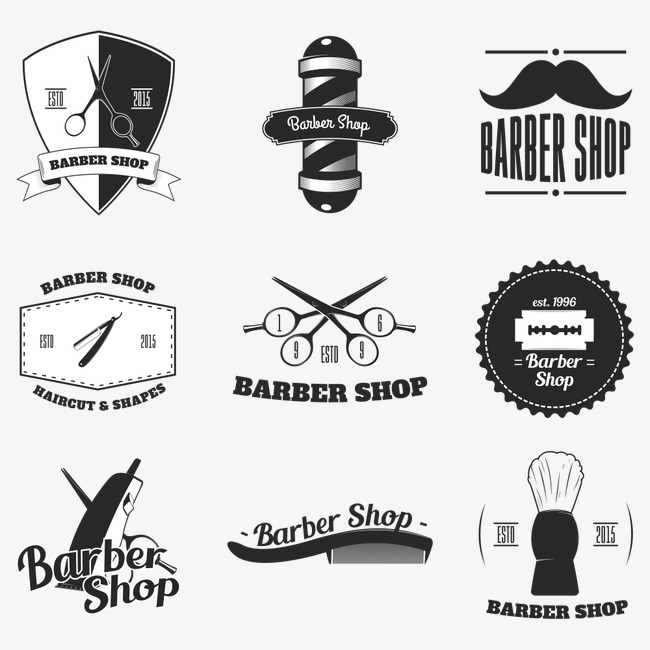 Tools hairdressing png and. Barber clipart vector