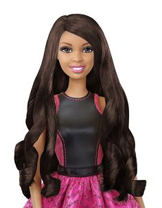 d doll birthday. Barbie clipart african american