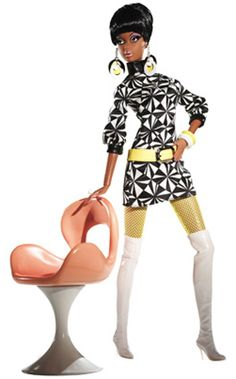 Barbie clipart african american. Glamour lady with eiffel