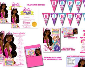 best zaria party. Barbie clipart african american