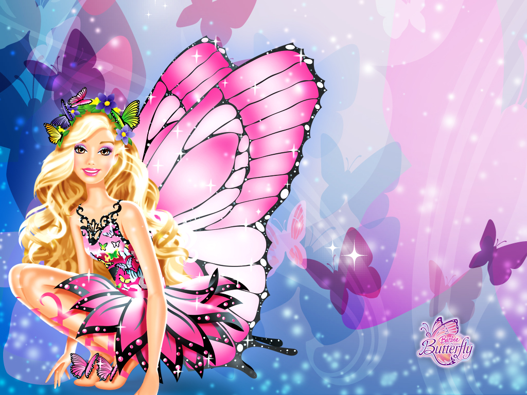Wallpapers backgrounds and images. Barbie clipart background