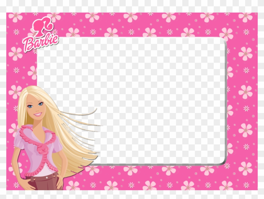 Barbie clipart borders. Free png download frame