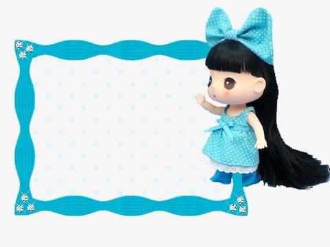 Barbie clipart borders. Border doll frame png