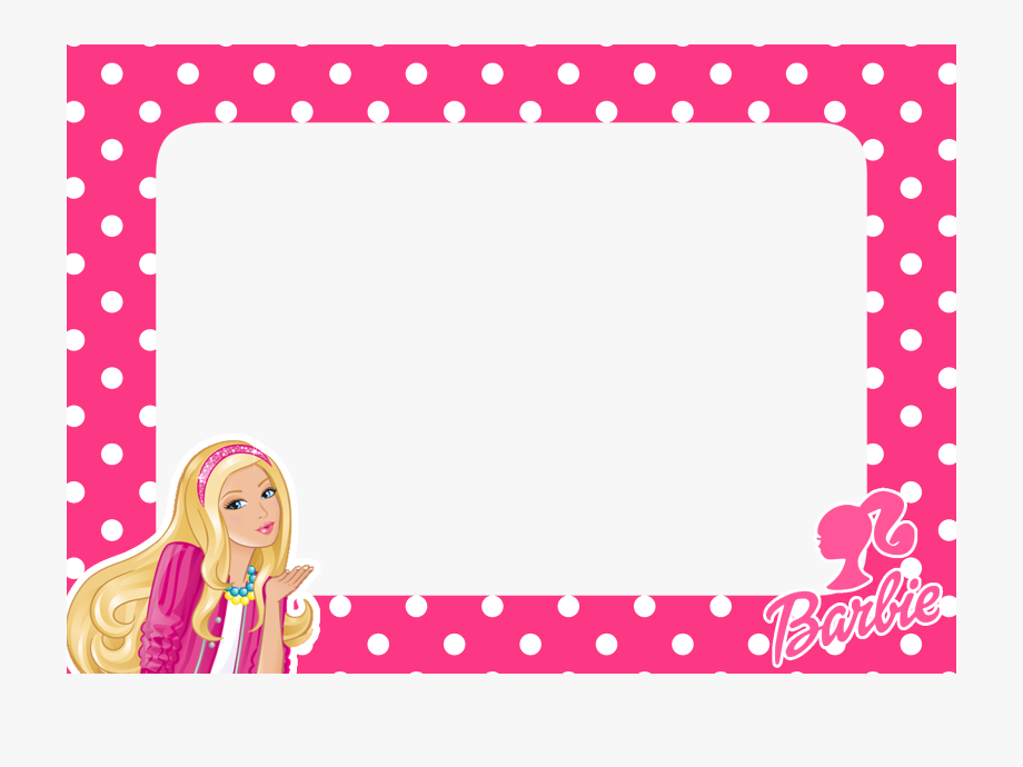 Barbie clipart borders. Frames wallpapers high quality