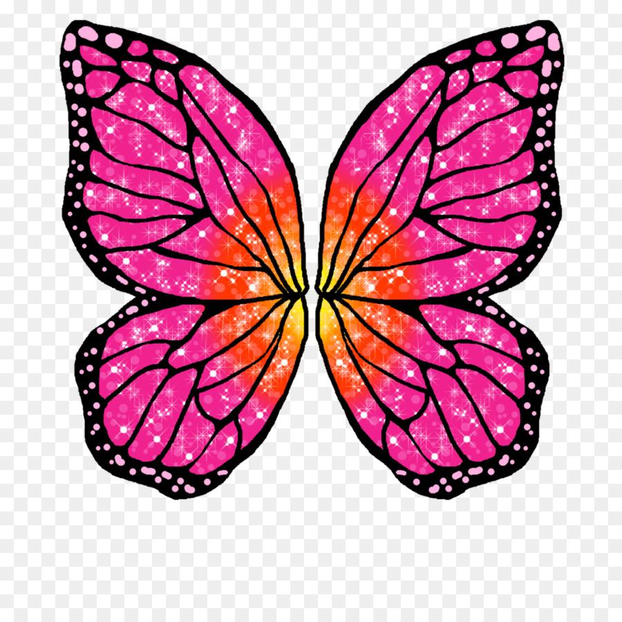 Barbie clipart butterfly. Pink flower cartoon doll