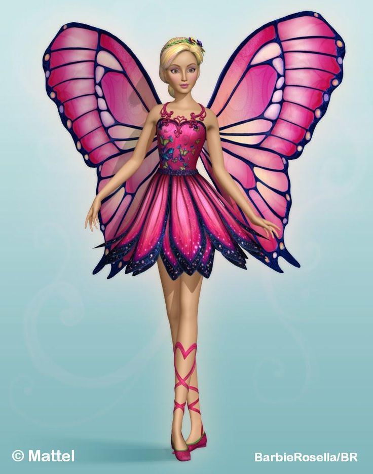 Barbie clipart butterfly.  best movies images