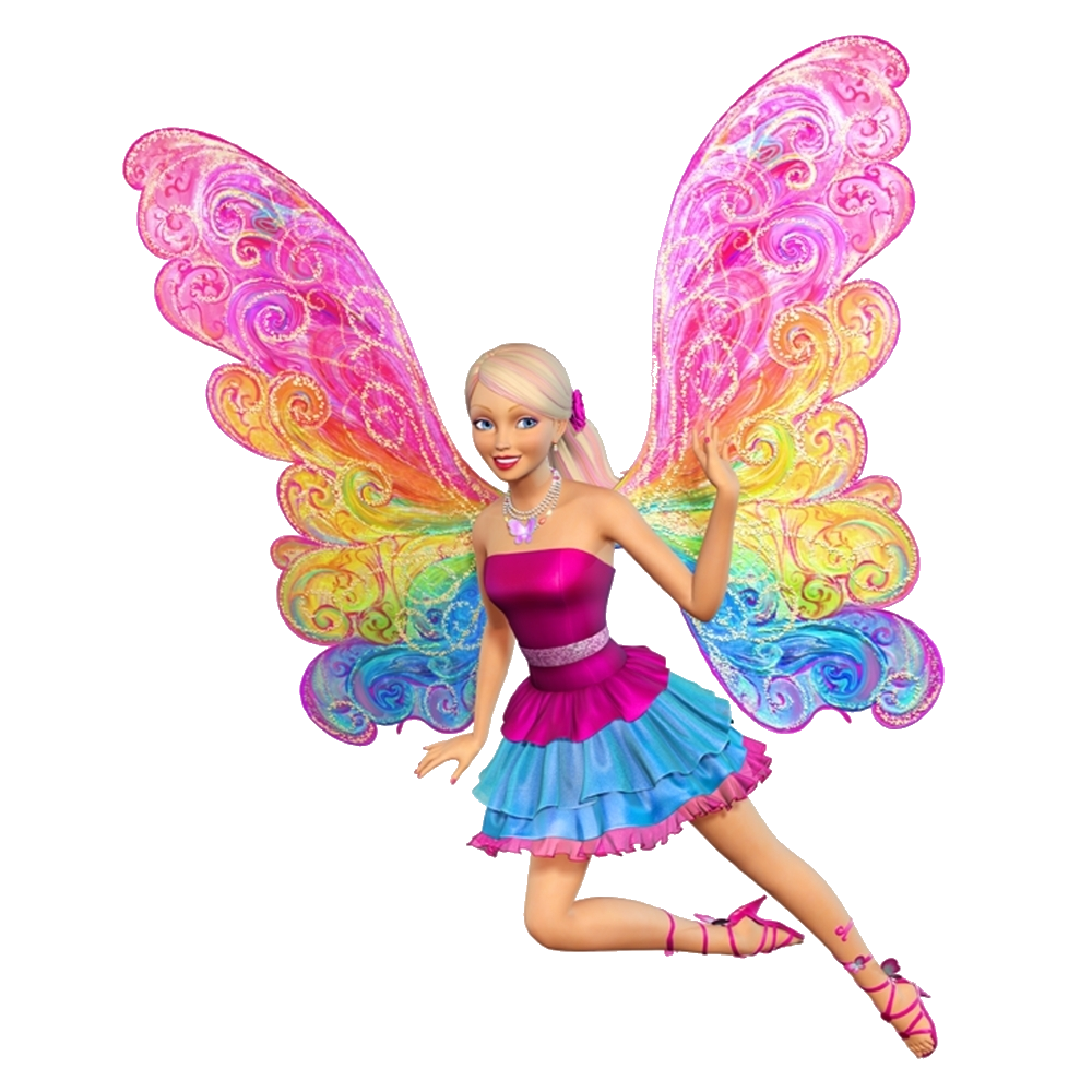 Png images transparent free. Barbie clipart butterfly