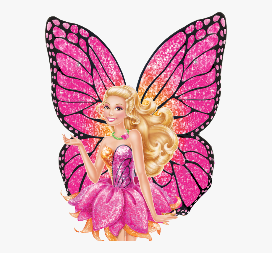 Clip art free cliparts. Barbie clipart butterfly