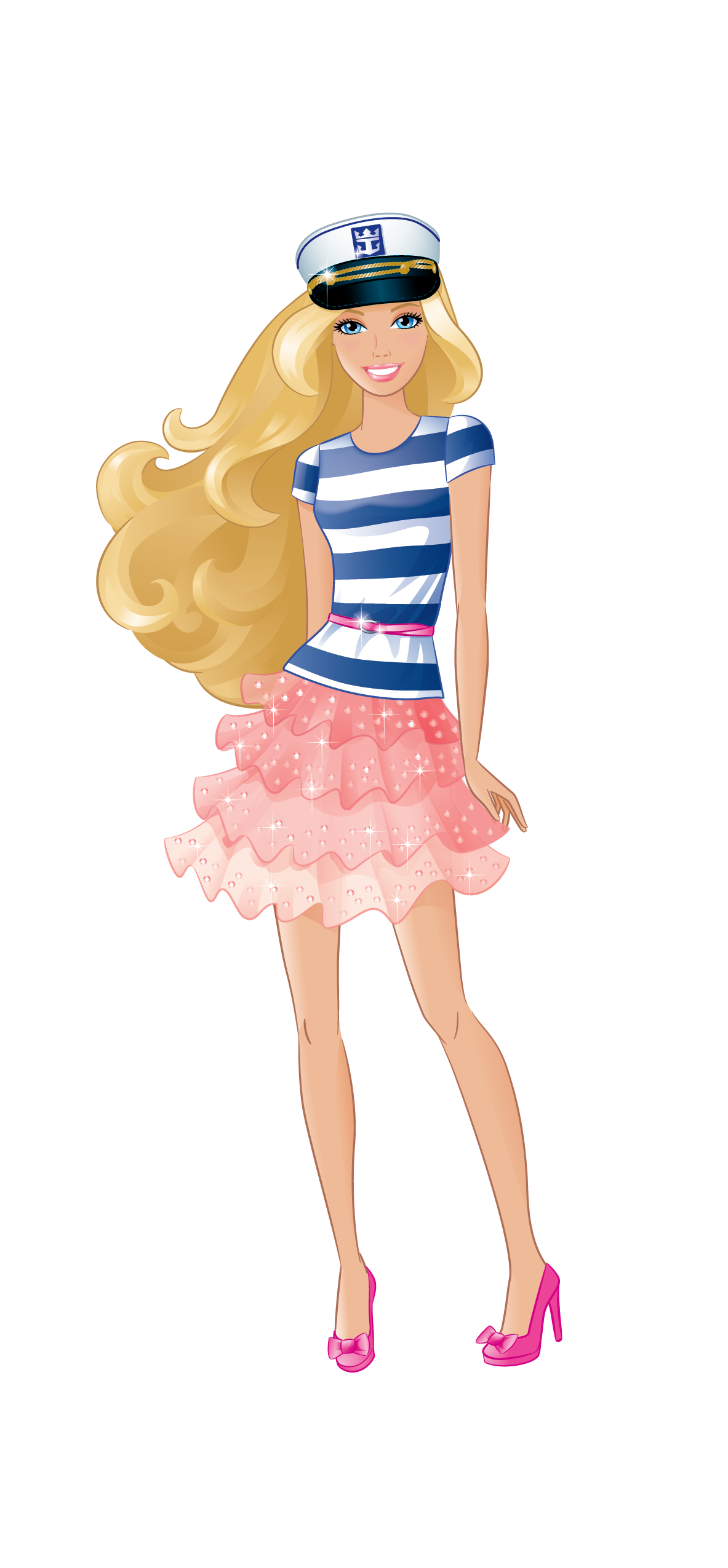Pin by fantasy fanatic. Barbie clipart carton