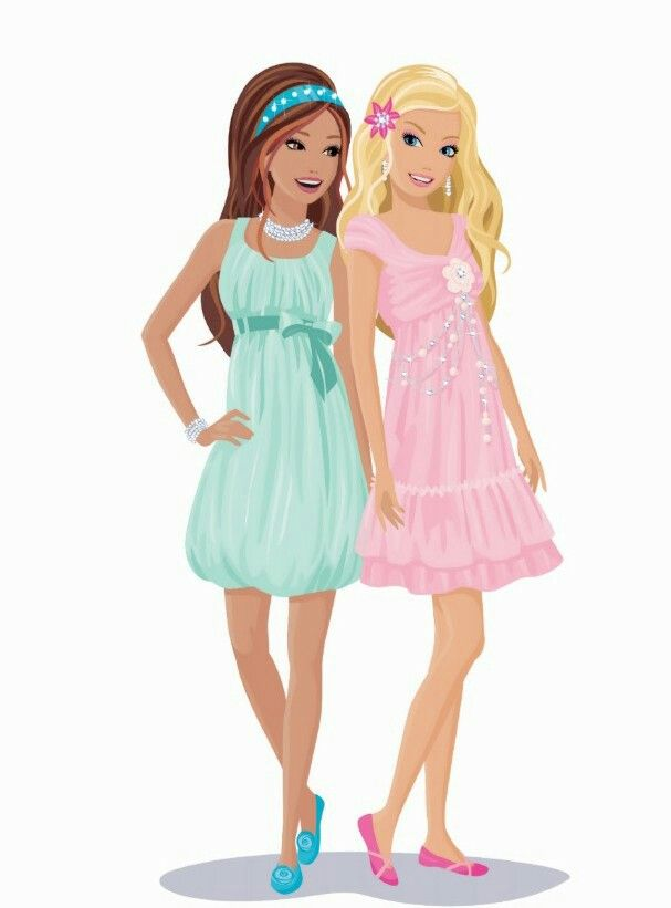 best frames and. Barbie clipart character