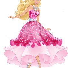 Smile pinteres danielle m. Barbie clipart cute