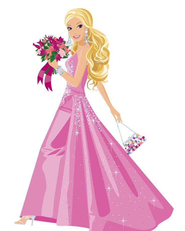 Barbie clipart cute, Barbie cute Transparent FREE for ...