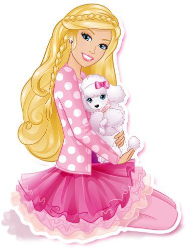 barbie clipart cute