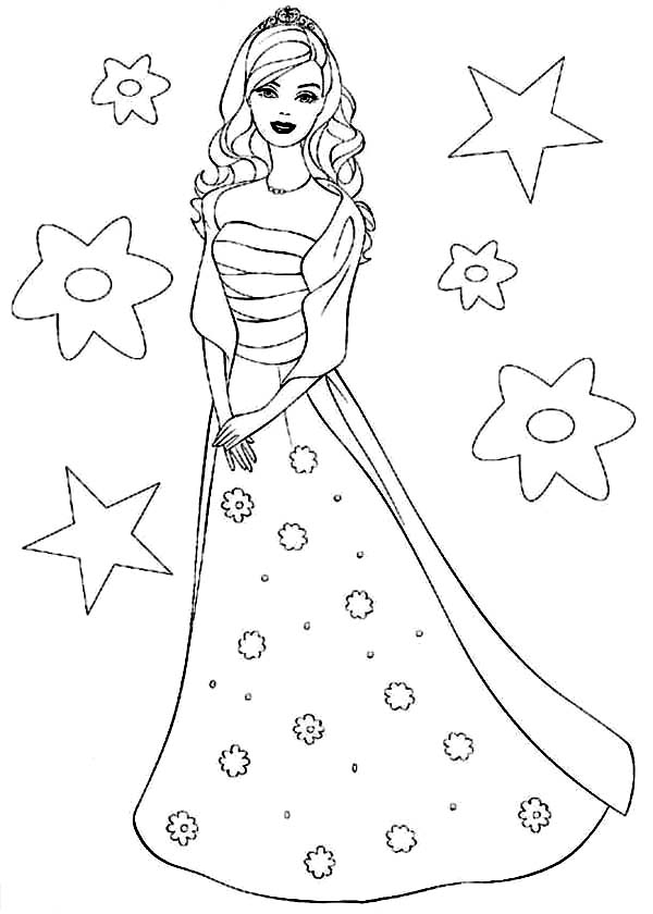 collection of princess. Barbie clipart drawing