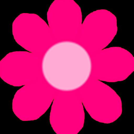 Barbie clipart flower. Pink clipartfest cm art