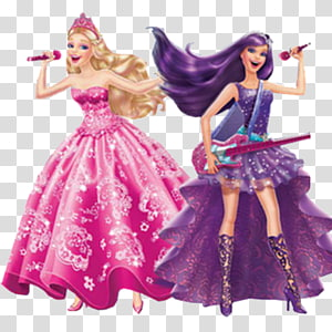 The princess popstar doll. Barbie clipart group