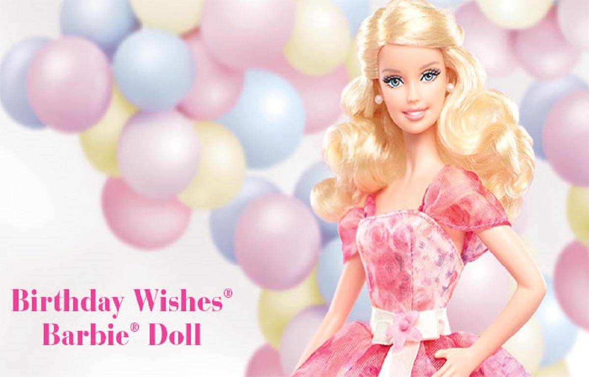 Wallpapers qygjxz . Barbie clipart happy birthday