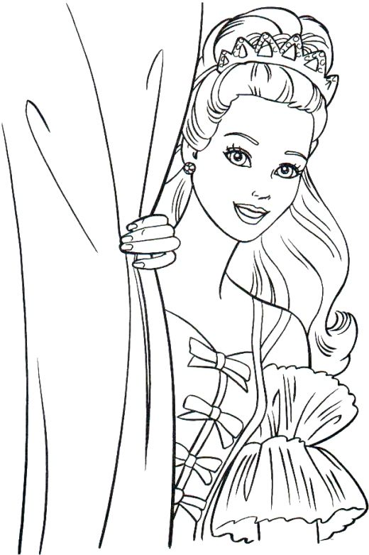 Barbie clipart outline. Dolls drawing at getdrawings