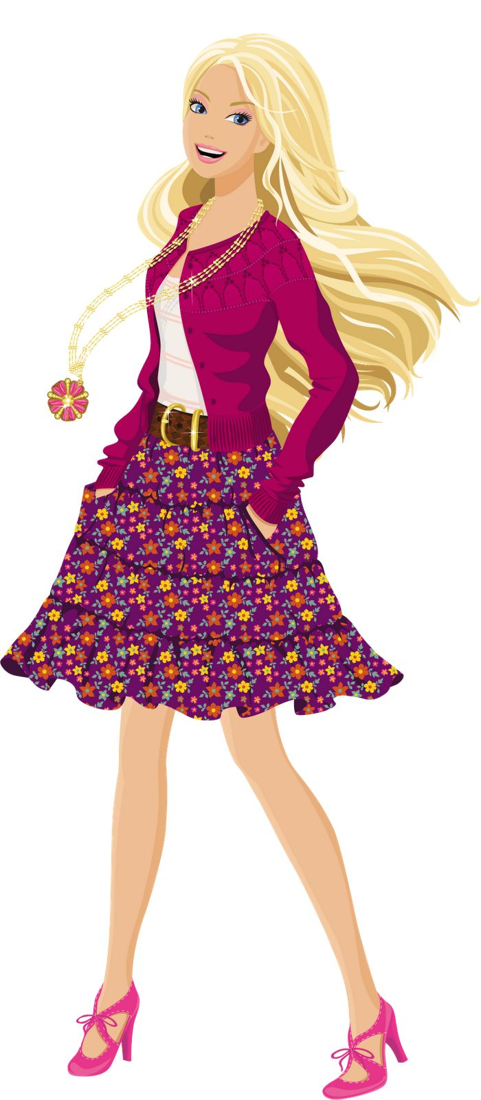 Barbie clipart poster.  best images on
