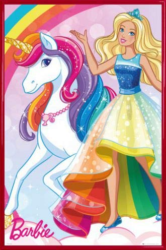 Amazon com and frame. Barbie clipart poster
