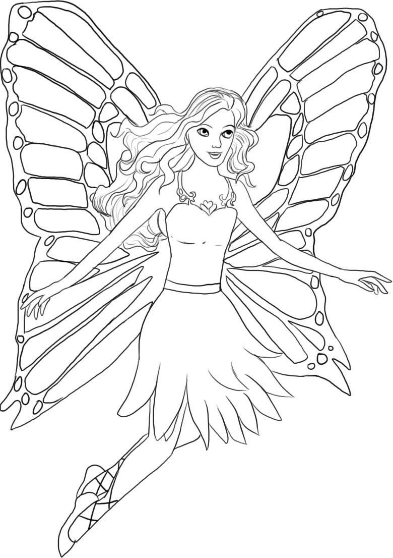 Coloring pages page . Barbie clipart printable