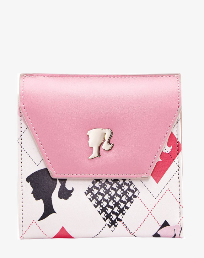 Barbie clipart purse. Pink cute bag lovely