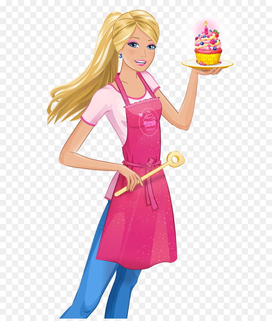 Cartoon doll clothing transparent. Barbie clipart school