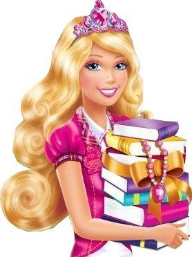 best mu ecas. Barbie clipart school