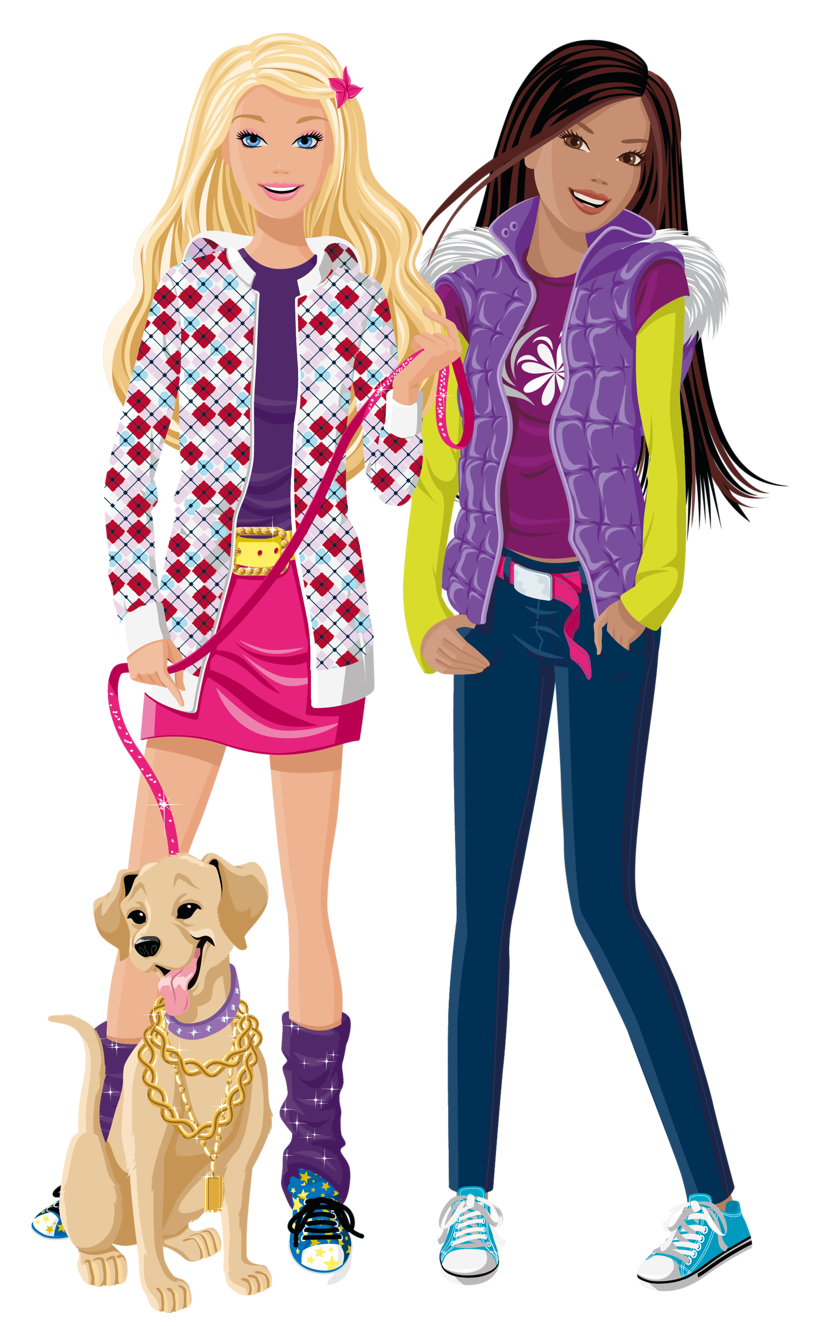 And friend png image. Barbie clipart school