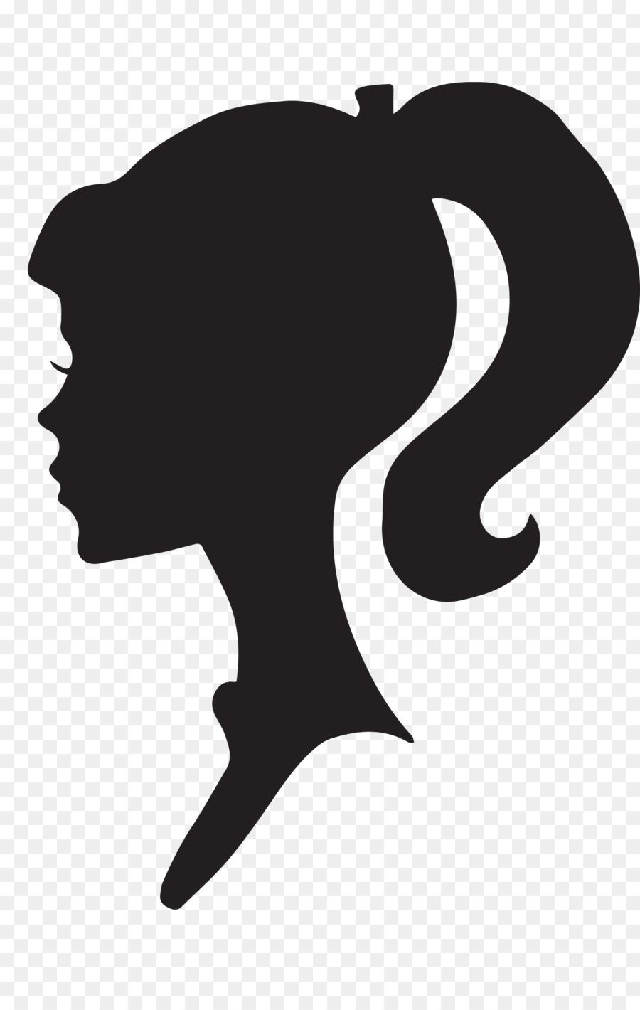 Barbie clipart silhouette. Ken drawing clip art