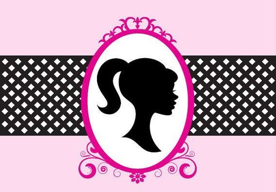 Barbie clipart silhouette.  awesome clip art