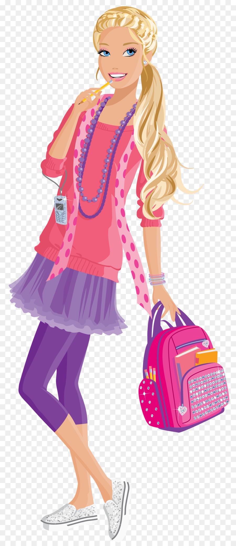 The princess popstar doll. Barbie clipart word