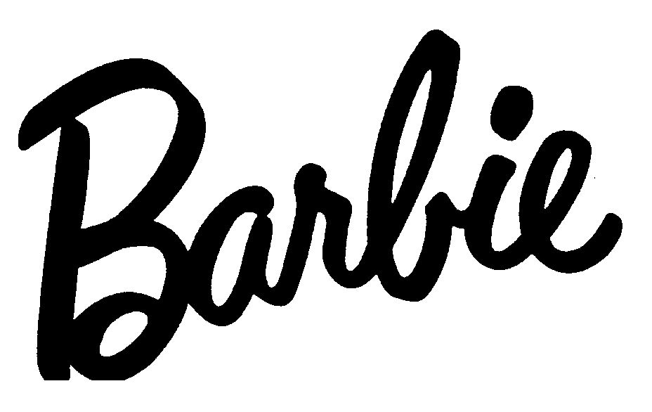 X free clip art. Barbie clipart word