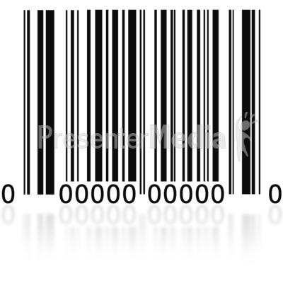 Business and finance great. Barcode clipart