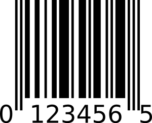 Upc e signs symbol. Barcode clipart