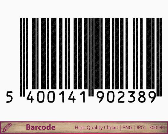 Bar code clip art. Barcode clipart