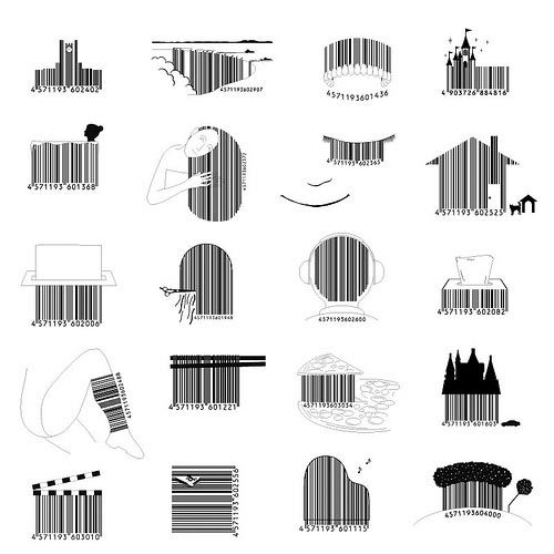 Barcode clipart barcode label.  best illustrated barcodes