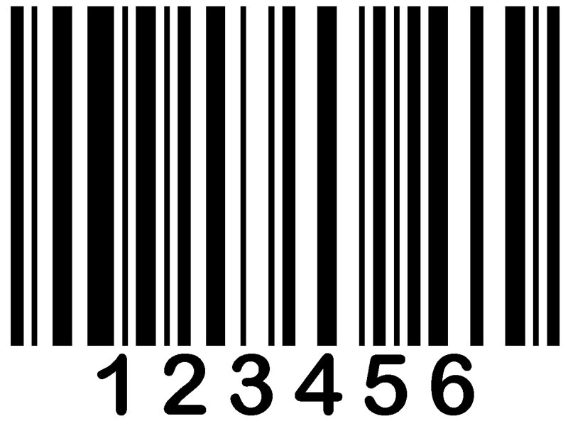 Labels bar code printing. Barcode clipart barcode label