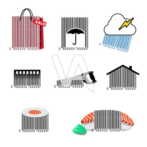 Barcode clipart dvd. Artwork uk look