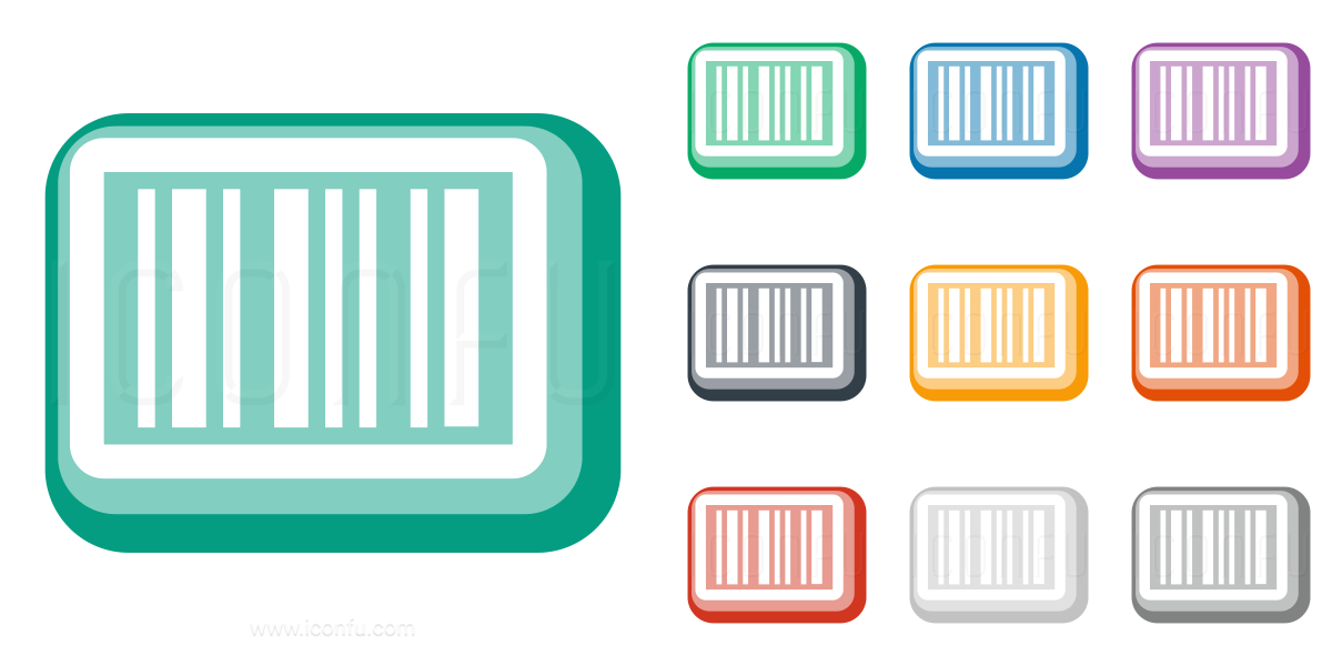 Barcode cute. Clipart empty transparent free