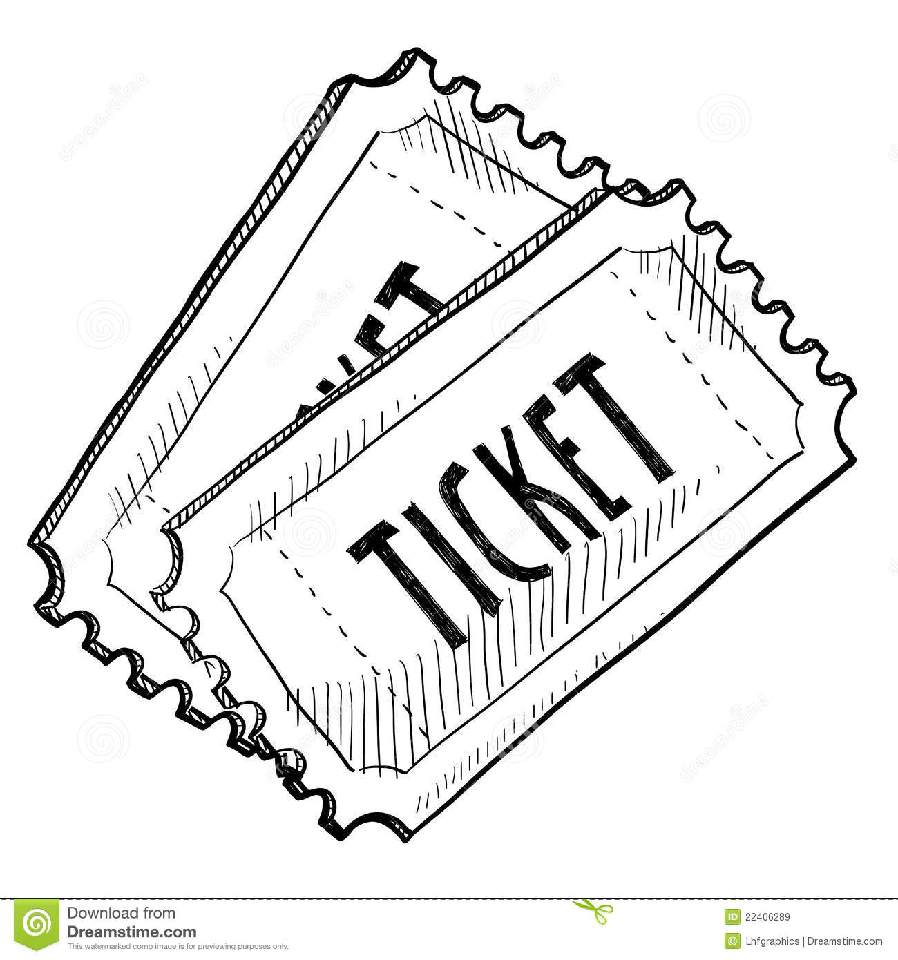 Raffle clipart event ticket. Tickets for drawings incep