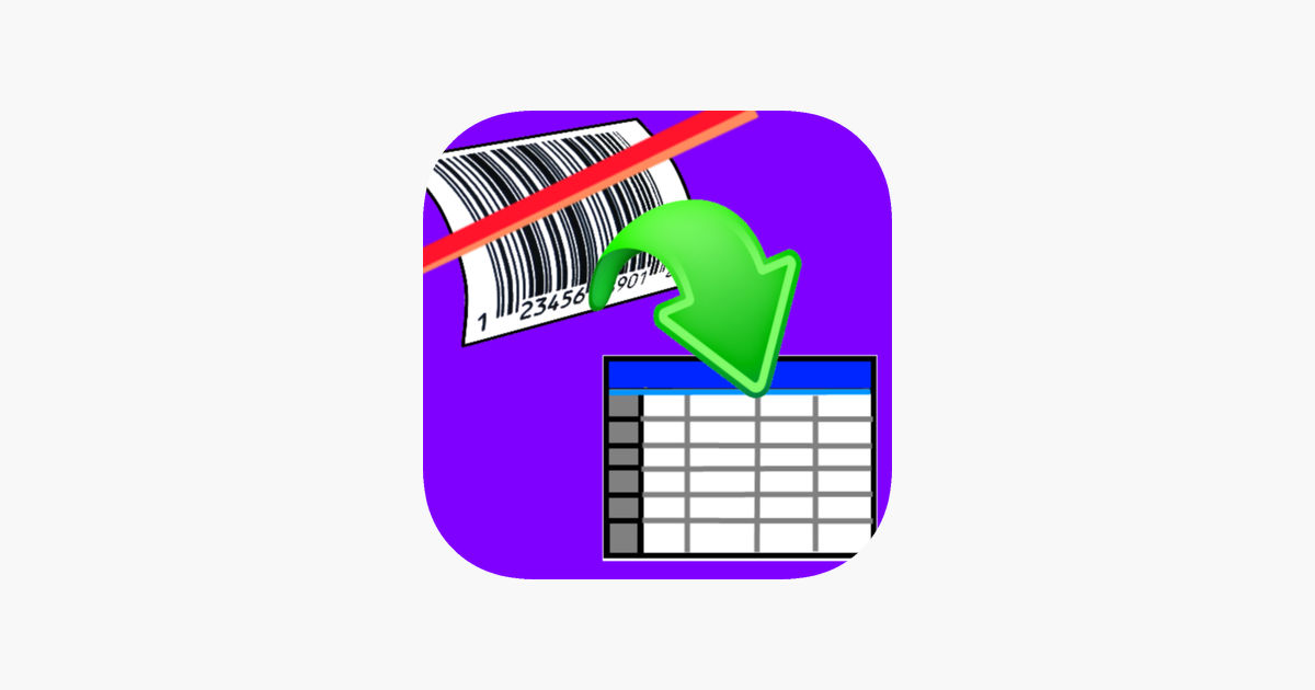 Barcode clipart french. Scan to spreadsheet on