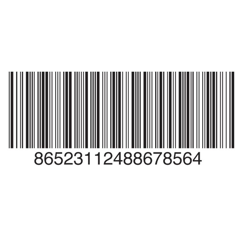 Barcode clipart invitation. Darkroom designs graphics prepress