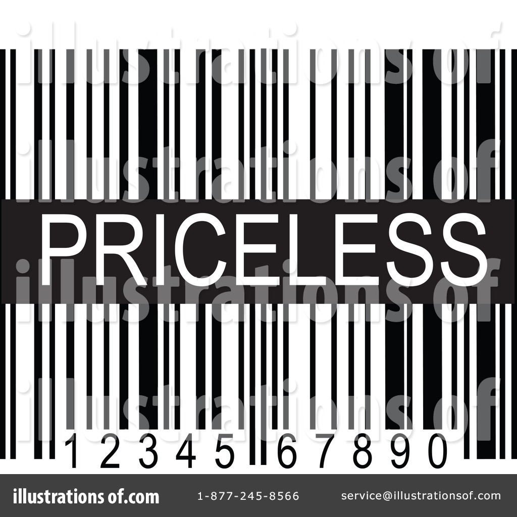 Illustration by maria bell. Barcode clipart royalty free