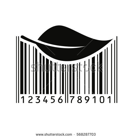 Barcode clipart royalty free. Special pencil and in